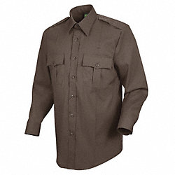 Sentry Plus Shirt, Brown, Neck 18 In.
