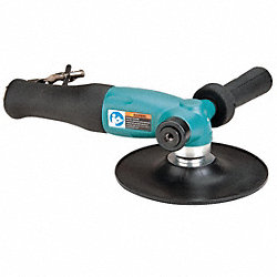 Right Angle Air Disc Sander, Ind, 1.3 HP