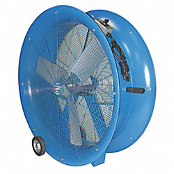 Air Circulator, 34 In, 11, 050 cfm, 115V