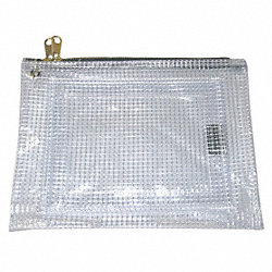 Evidence Pouch, 9 x 12 In, Clear