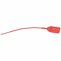 Equilock Locking Seal, Red, PK100