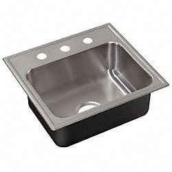 Sink, Ledgeback, 19 In L