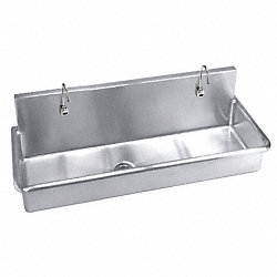 Multi-Station Sink, w/Sensor, 48 In L
