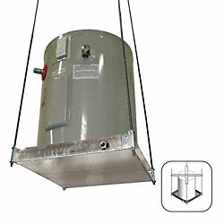 Water Heater Platform, Ceiling Mount
