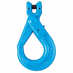 Clevis Self Locking Hook, G100, 1/4-5/16