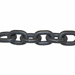 Chain, Grade 100, 3/8 Size, 15 ft., 8800 lb.