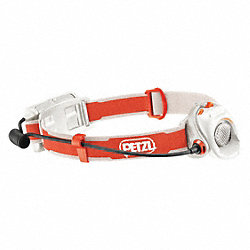 Headlamp, (2)AA, 3 Level, Gray
