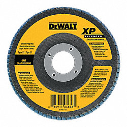 Flap Disc, 4.5 In, 5/8-11 AH, 60G, T27, ZA