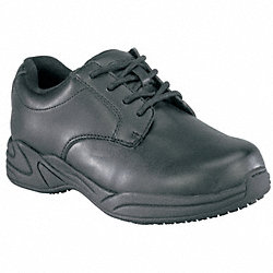 Work Shoes, Pln, Womens, 7, Black, 1PR