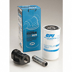 Fuel Filter Kit, 10 Microns, 18 GPM