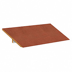 Locker Sloping Top, 3 Wide, 36x18, Cherry