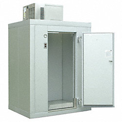 Walk-In Cooler, 8x10 ft., 100 In, 1 HP