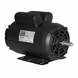 Air Compr Mtr, 5 HP, 1745rpm, 208-230V, 184T