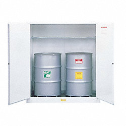 Flammable Cabinet, 110 Gal., White