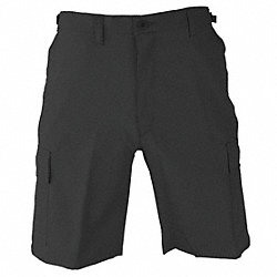 Mens Tactical Shorts, Black, Size M