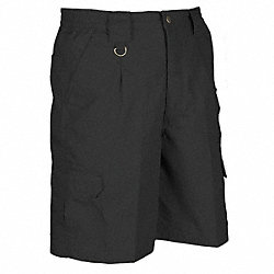 Mens Tactical Shorts, Black, Size 28