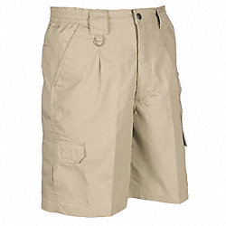 Mens Tactical Shorts, Khaki, Size 36