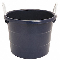 Storage Tub w/ Rope Handles, 10 Gal, Navy