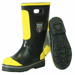 Shoe-Fit Fire Boots, Mens, 9-1/2W, 1PR