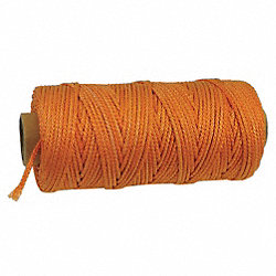 Masons Line, 300 ft, Orange, Twisted Nylon
