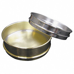 Pan, Brass, 12 In Dia, 4 In D