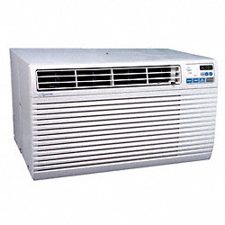 Wall Air Con, 230/208V, Cool Heat, EER9