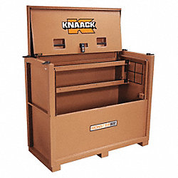 Jobsite Piano Box, 66 x 30 x54-1/2 In, Tan