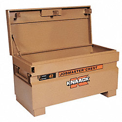 Jobsite Chest, 42 x 19 x 18 In, Steel, Tan