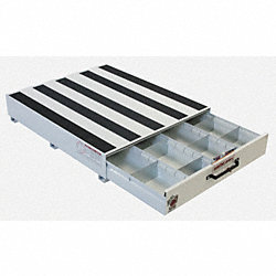 Truck Drawer, Steel, 48 x39-5/8 x8-7/8, Wht