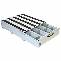 Truck Drawer, Steel, 48 x39-5/8x12-3/8, Wht