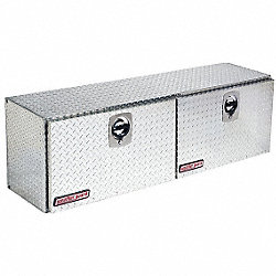 Hi-Side Truck Box, Alum, 64-1/4 x16-1/4x18