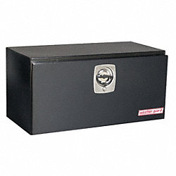 Underbed Box, 36-5/8 x 18-1/4 x18-1/8, Blk