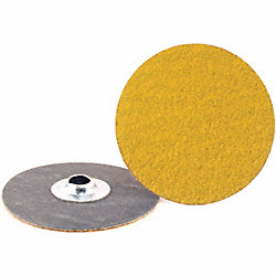 Locking Sanding Disc, 3in, 120Grit, TS, PK50