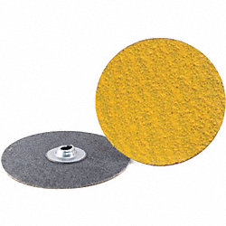 Locking Sanding Disc, 4in, 24Grit, TS, PK25