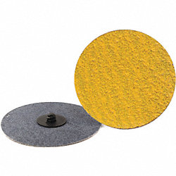 Locking Sanding Disc, 4in, 24 Grit, TR, PK25