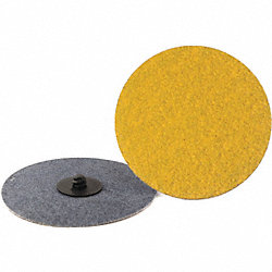 Locking Sanding Disc, 4in, 80 Grit, TR, PK25