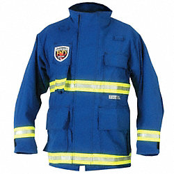 EMS Jacket, 2XL, Royal Blue