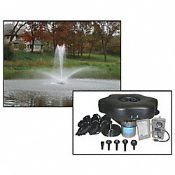 Pond Fountain, 3/4 HP, 120V, Cord  50 Ft.