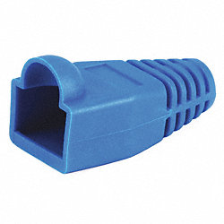 Relief Boot, RJ45, Blue, PK 50