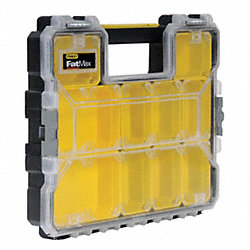 Parts Organizer, Deep, 10 Compartment
