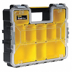 Parts Organizer, Shallow, 10 Compartment