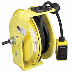 Heavy Duty Cord Reel, 14/3, (2)-15A Duplex