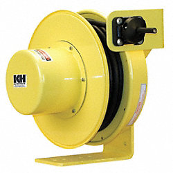 Industrial Cord Reel, 10/3, 50Ft, 600V