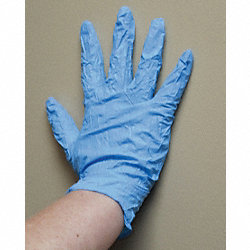 Disposable Gloves, Nitrile, XL, Blue, PK1000