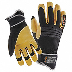 Tactical Glove, 2XL, Black/Tan, PR