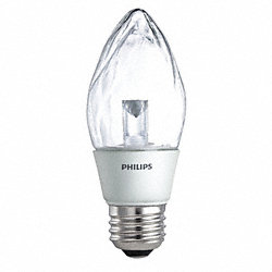 LED Light Bulb, F15, 2700K, Warm