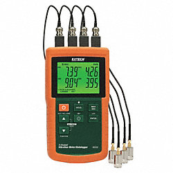 4 Channel Vibration Datalogger