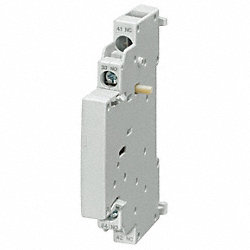 Lateral Auxiliary Contact Block, 1NC, 1NO