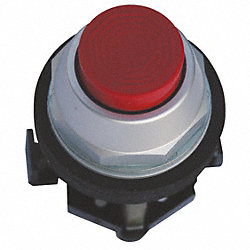 Pushbutton, Extended, Red, 1NC