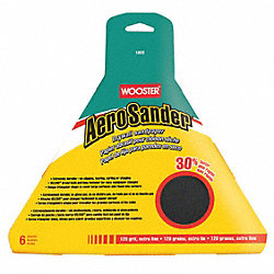 Sandpaper, 120 Grit, 9 x 10-1/8 In, PK 6